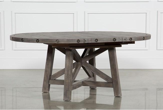 Jaxon Grey Round Extension Dining Table - 360
