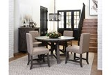 Jaxon Grey Round Extension Dining Table - Room