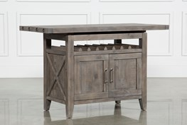 Jaxon Grey Extension Counter Table