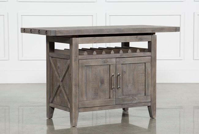 Jaxon Grey Extension Counter Table - 360