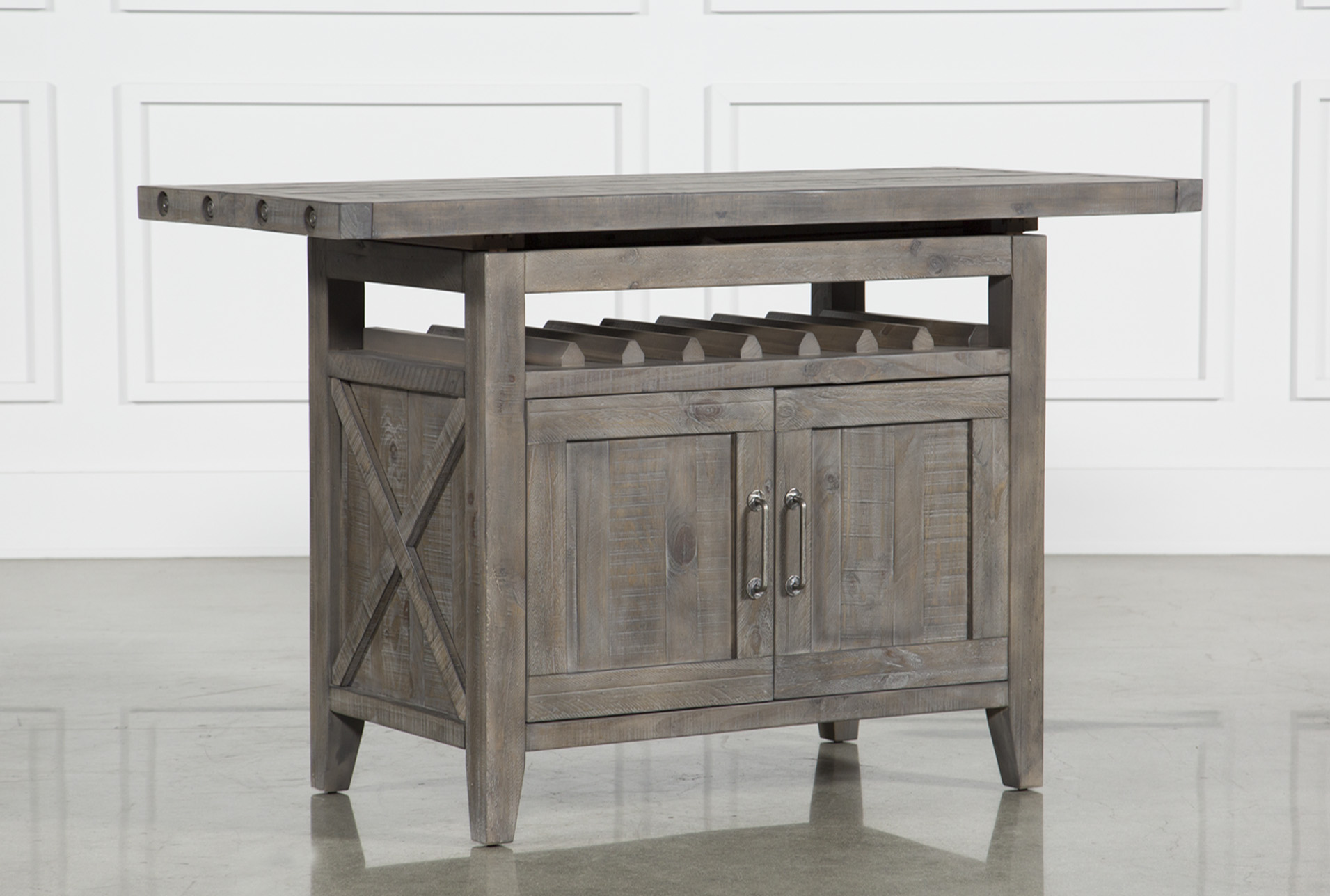 Jaxon Grey Extension Counter Table   360