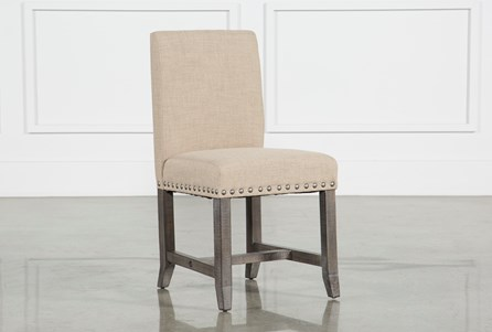 Jaxon Grey Upholstered Side Chair
