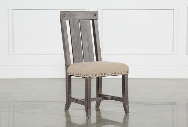 Jaxon Grey Wood Side Chair - 360