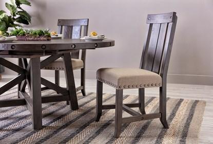 Enjoyable Jaxon Grey 7 Piece Rectangle Extension Dining Set W Wood Chairs Cjindustries Chair Design For Home Cjindustriesco