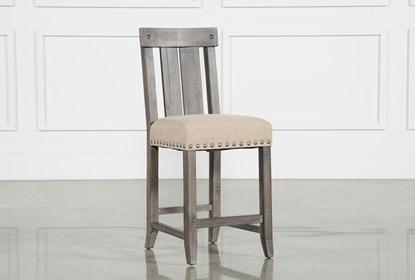 Awesome Jaxon Grey Wood Counter Stool Beatyapartments Chair Design Images Beatyapartmentscom
