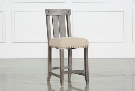 Jaxon Grey Wood Counterstool