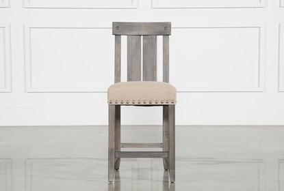 Pleasant Jaxon Grey Wood Counter Stool Andrewgaddart Wooden Chair Designs For Living Room Andrewgaddartcom