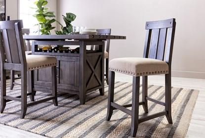 Wondrous Jaxon Grey Wood Counter Stool Andrewgaddart Wooden Chair Designs For Living Room Andrewgaddartcom