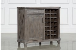 Jaxon Grey Wine Cabinet