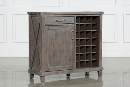 Jaxon Grey Wine Cabinet - Main