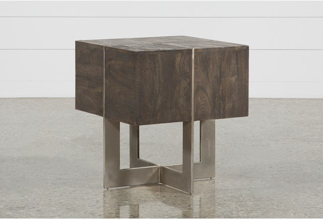 Axis Square End Table - 360