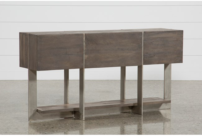 "Axis 58"" Sofa Table - 360"