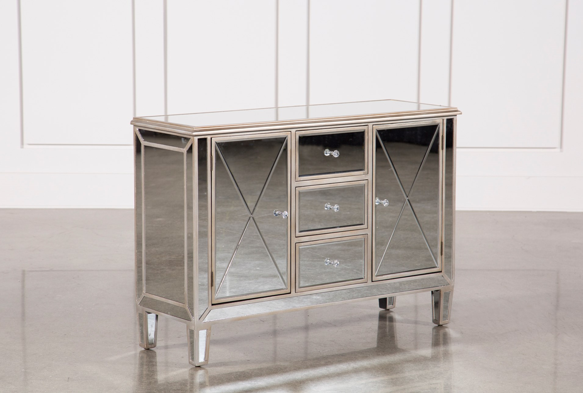 Hayworth mirrored dresser