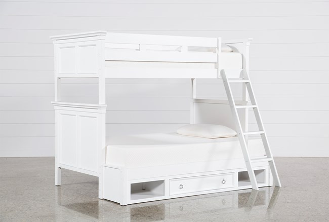 Albany Twin Over Full Bunk Bed With Drawer Base - 360
