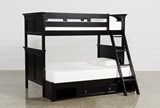 Savannah Twin Over Full Bunk Bed With Drawer Base - Signature