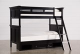 Savannah Twin Over Twin Bunk Bed With Drawer Base - Signature