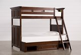 Dalton Twin Over Full Bunk Bed With Drawer Base - Signature