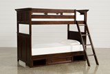 Dalton Twin Over Twin Bunk Bed With Drawer Base - Signature