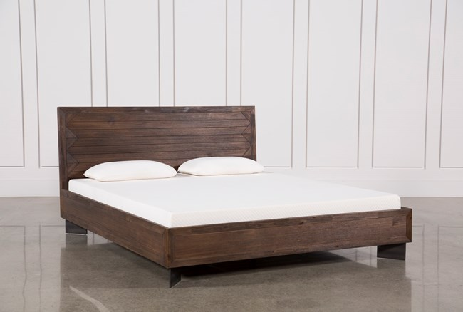 Nixon California King Platform Bed - 360