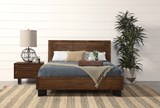 Nixon Eastern King Platform Bed - Room