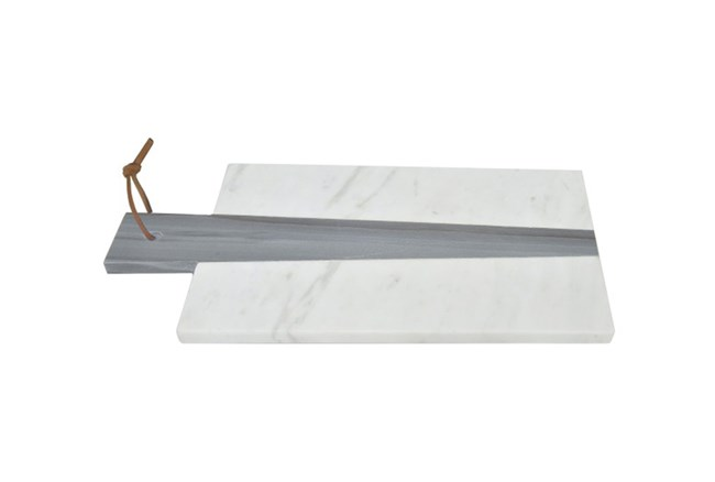 White & Grey Marble Board - 360