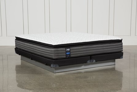 Butterfield Cushion Firm Ept Cal King Mattress W/Low Profile Foundation