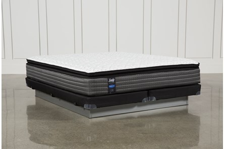 Butterfield Cushion Firm Ept Cal King Mattress W/Low Profile Foundation - Main