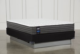 Butterfield Cushion Firm Queen Mattress W/Foundation