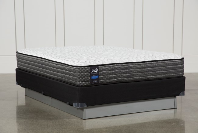 Butterfield Cushion Firm Queen Mattress W/Foundation - 360
