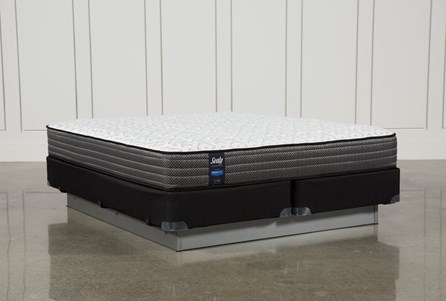 Butterfield Cushion Firm Eastern King Mattress W/Foundation