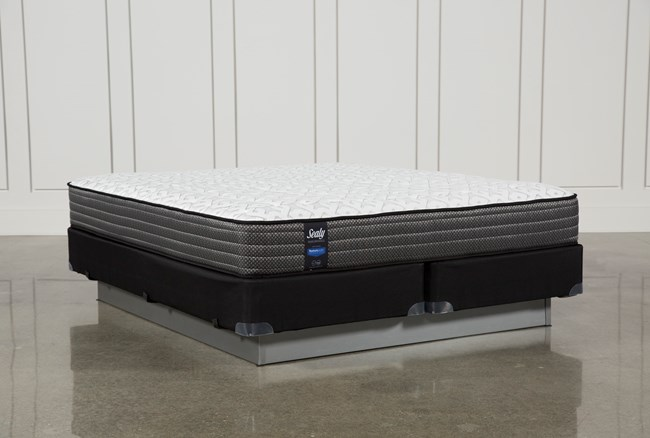 Butterfield Cushion Firm Eastern King Mattress W/Foundation - 360