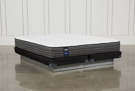 Butterfield Cushion Firm Eastern King Mattress W/Low Profile Foundation