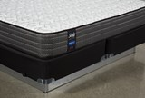 Butterfield Cushion Firm Cal King Mattress W/Low Profile Foundation - Right