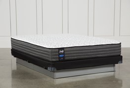 Butterfield Cushion Firm Full Mattress W/Low Profile Foundation