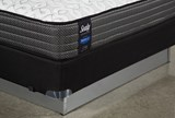 Butterfield Cushion Firm Full Mattress W/Low Profile Foundation - Top