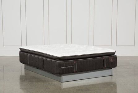 Baywood Luxury Cushion Firm Euro Pillow Top Queen Mattress