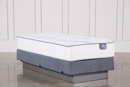 Coralview Plush Twin Mattress W/Foundation