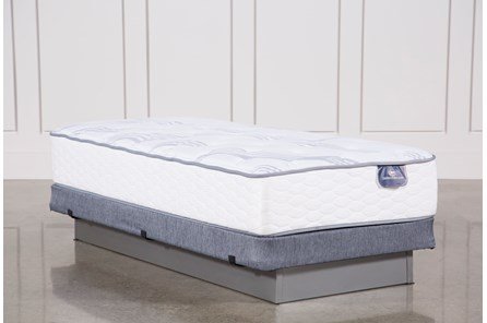 Coralview Plush Twin Mattress W/Low Profile Foundation - Main