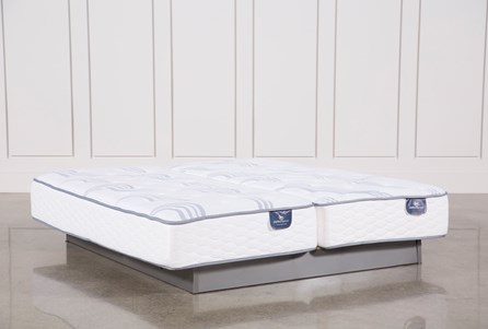 Coralview Plush Eastern King Split Mattress Set