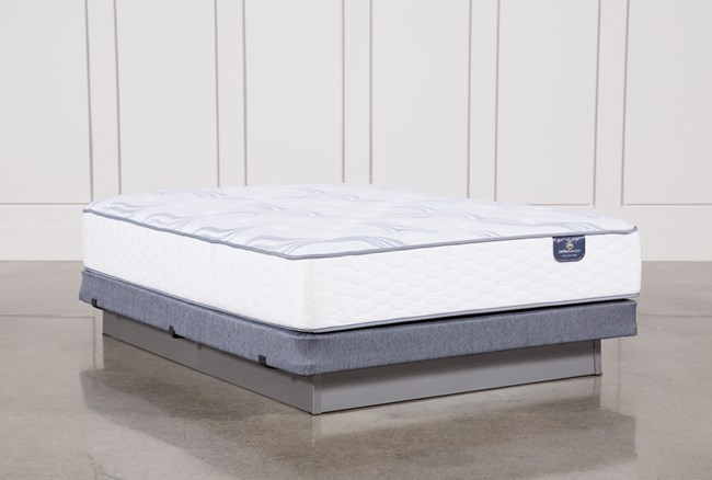 Coralview Plush Full Mattress W/Low Profile Foundation - 360