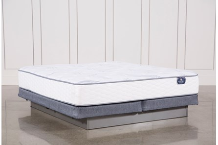 Coralview Plush Eastern King Mattress W/Low Profile Foundation - Main