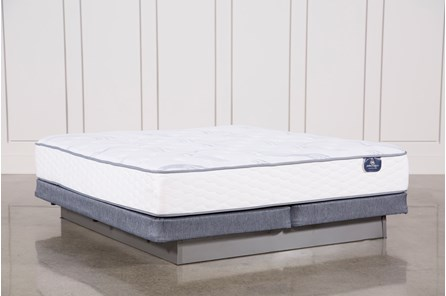 Coralview Plush Cal King Mattress W/ Low Profile Foundation - Main