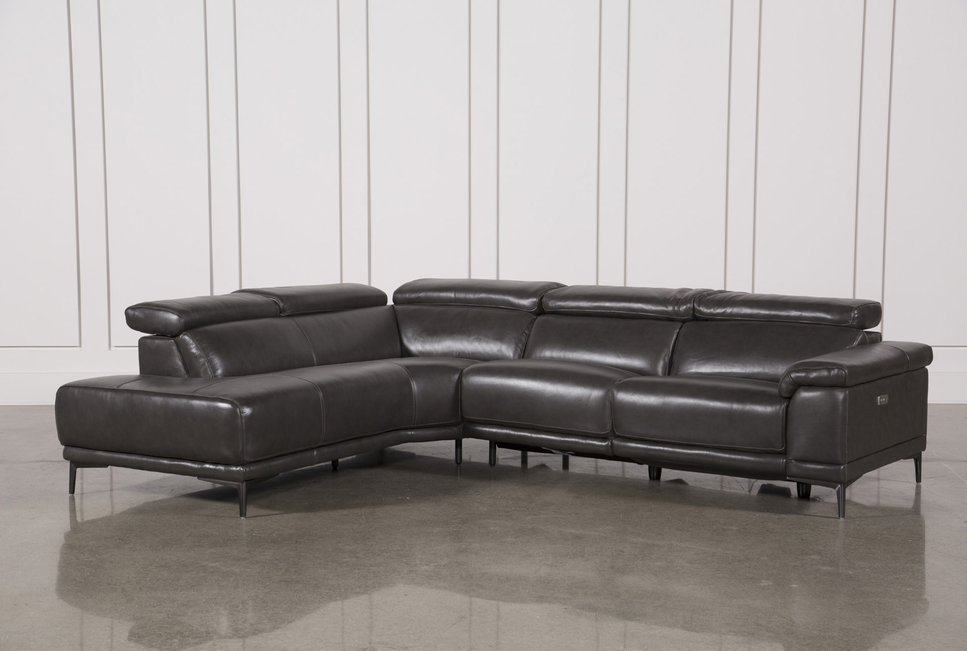 Tatum Dark Grey 2 Piece Sectional W/Laf Chaise (Qty: 1) Has Been  Successfully Added To Your Cart.