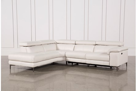 Tess 2 Piece Reclining Sectional W Laf Chaise