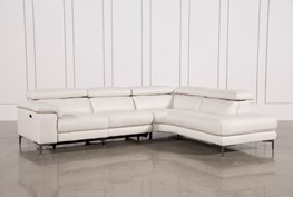 Tess 2 Piece Power Reclining Sectional W/Raf Chaise