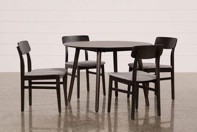 Swift 5 Piece Round Dining Set - 360