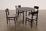 Swift 5 Piece Round Dining Set - Top