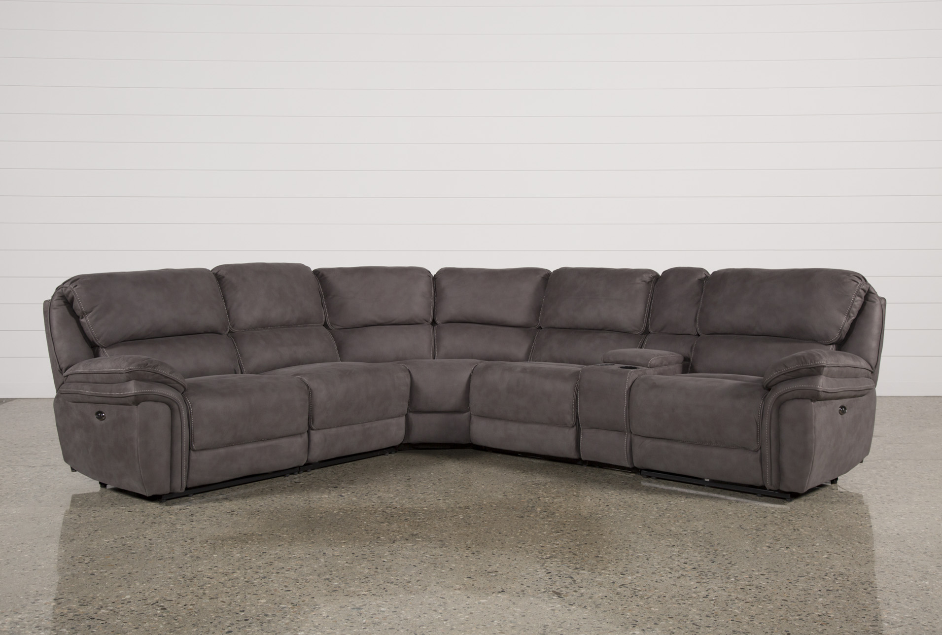 Norfolk Grey 6 Piece Sectional (Qty: 1) Has Been Successfully Added To Your  Cart.