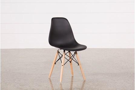 Cole Black Side Chair - Main