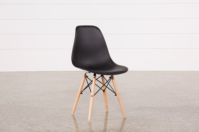 Cole Black Side Chair